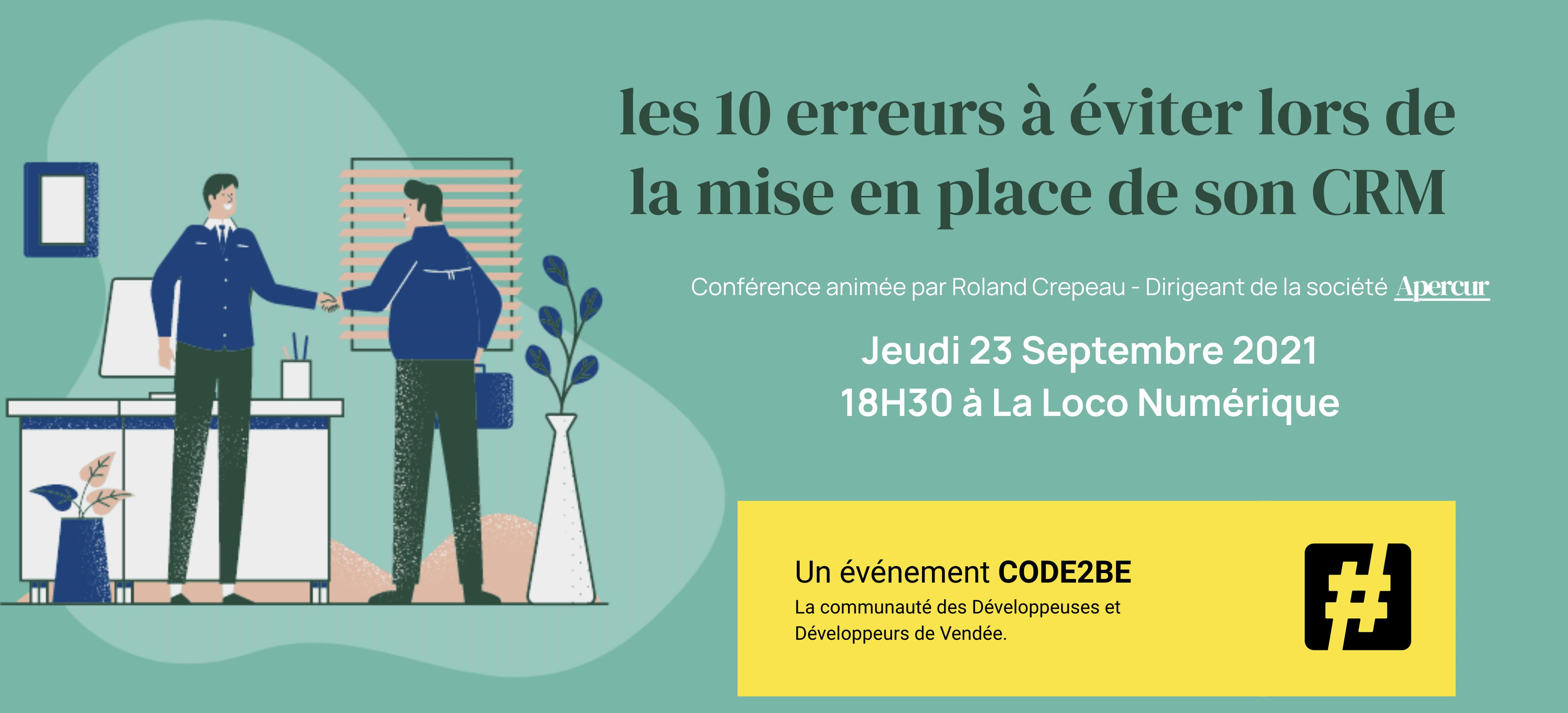 Apercur vous invite à la première masterclass gratuite sur le CRM en Vendée